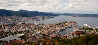 Берген, Норвегия Стоковые Фото