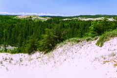 Берега главное озеро, Мичиган, США стоковое изображение rf