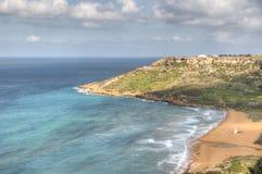 Берега Мальты стоковые изображения