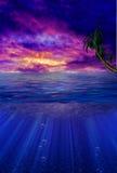 берега рая Стоковая Фотография