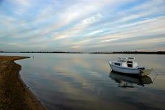 берега спокойствия Стоковые Изображения RF