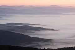 Берега тумана Стоковые Фото