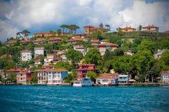 Берега Bosphorus стоковое фото