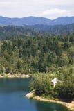 берега pehoe парка paine озера дома америки Чили del гостиницы torres национального южные Стоковые Изображения