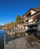 берега pehoe парка paine озера дома америки Чили del гостиницы torres национального южные Стоковые Изображения RF