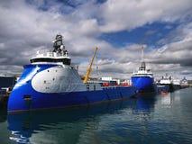 Береговая база снабжения b стоковая фотография