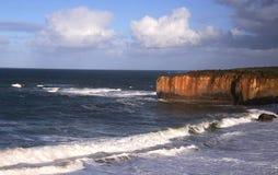Береговая линия 12 апостолов на южном береге Австралии Стоковое Изображение RF