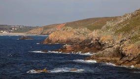 Береговая линия Бретани видеоматериал