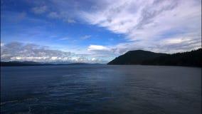 Береговая линия Британской Колумбии Стоковые Изображения RF