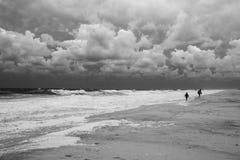 береговая линия бурная Стоковые Фотографии RF