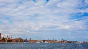 Береговая линия Венеции Стоковое фото RF