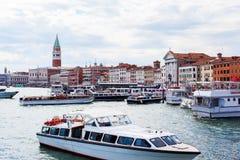 Береговая линия Венеции Стоковые Изображения RF