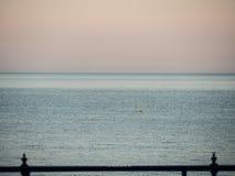 Береговая линия в вечере Стоковые Изображения