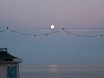 Береговая линия в вечере Стоковые Фото