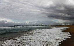 Береговая линия города стоковые фото