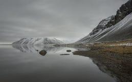 Береговая линия Исландии стоковые изображения