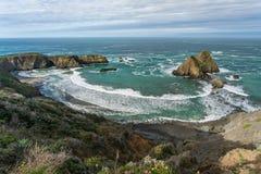 Береговая линия Калифорнии Стоковое Изображение RF