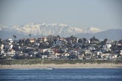 Береговая линия Калифорнии Стоковое Фото