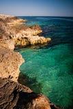 Береговая линия моря Стоковое Изображение