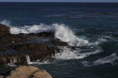 Береговая линия океана в Malibu, Калифорнии 5 Стоковое Фото