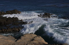 Береговая линия океана в Malibu, Калифорнии 4 стоковое фото rf