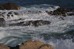 Береговая линия океана в Malibu, Калифорнии 2 стоковое фото