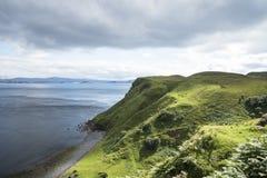 Береговая линия острова Skye Стоковое фото RF