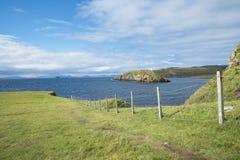 Береговая линия острова Skye Стоковые Изображения