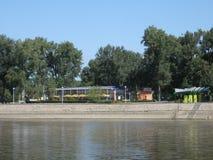 Береговая линия реки Стоковая Фотография RF