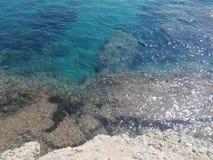 Береговая линия Сицилии Стоковые Изображения RF
