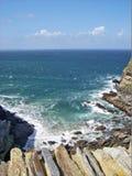 береговая линия утесистая Стоковое Изображение