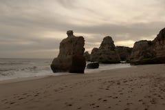береговая линия утесистая Стоковая Фотография RF
