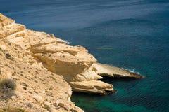 Береговая линия Cabo de Gata Стоковые Изображения