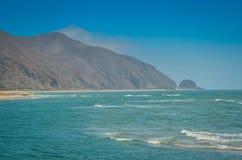 береговая линия california южная стоковое фото