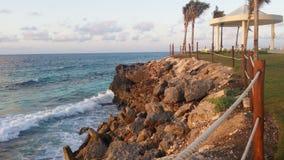 Береговая линия Cancun Стоковые Изображения RF