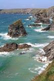 береговая линия cornish Стоковые Изображения