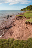 Береговая линия Lake Superior Стоковое Фото