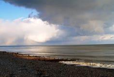 береговая линия Англия Стоковые Фотографии RF