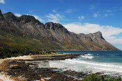 Береговая линия Африки красивая около Кейптауна Стоковое Изображение