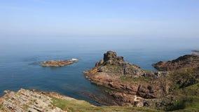 Береговая линия Бретань видеоматериал