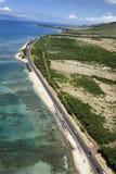 береговая линия Гавайские островы Стоковое Изображение RF