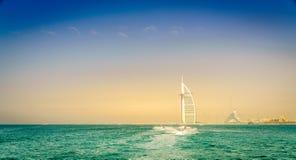 Береговая линия Дубай Стоковое фото RF