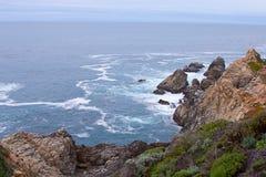 Береговая линия Калифорнии Стоковые Изображения