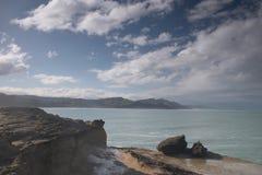береговая линия неровная Стоковые Изображения