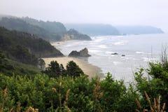 береговая линия Орегон Стоковая Фотография RF