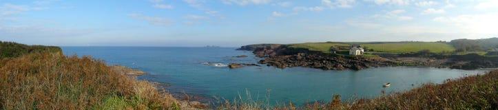 береговая линия панорамная Стоковая Фотография
