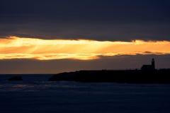 Береговая линия Санта Чруз Стоковые Изображения RF