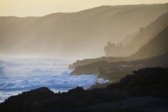 береговая линия сценарная стоковые фотографии rf