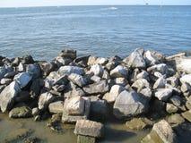 береговая линия утесистая Стоковые Фото