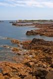 береговая линия Франция brittany северная Стоковые Фото